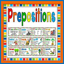 Preposition Posters Worksheets Teachers Pay Teachers