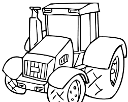 Small Picture simple tractor coloring pages gianfredanet 81892 Gianfredanet