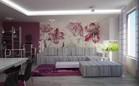 Wall Painting Design For Living Room Stunning Wallpaper And Paint Ideas Living Room In Home Design