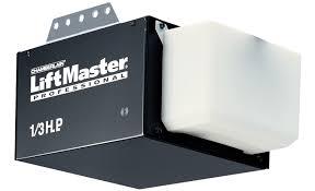 liftmaster 1345 1 3 hp chain drive garage door opener
