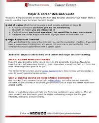 Explore Majors Careers Career Center