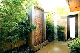 Modern Outdoor Wall Fountain Water Contemporary Garden Fountains Unique