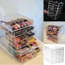 image is loading acrylic makeup organiser 6 tier clear cosmetic storage