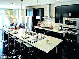 beadboard wallpaper kitchen island single wall with design one designs ideas contemporary