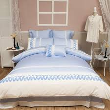 light blue duvet cover set queen king size bedding set 100 egyptian cotton s bed sheets pillow case and duvet cover duvet cover set