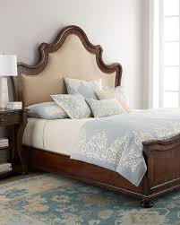 neiman marcus bedroom bath. karissa upholstered queen bed brownnatural neiman marcus bedroom bath n