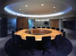 custom round boardroom table