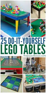 diy lego tables