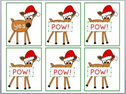 Reindeer Sight Word Flashcards Dolch Primer List By Primary Packrat