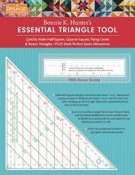 Fastcut Tool Chart Fast2cut Bonnie K Hunters Essential Triangle Tool