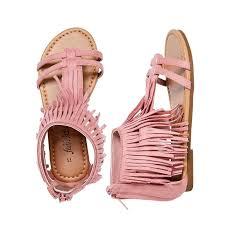 Fringe Sandal Fabkids Cute Outfits For Kids Kid Shoes
