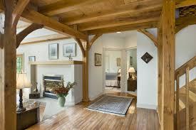 an interior designer s dream is a timber frame home
