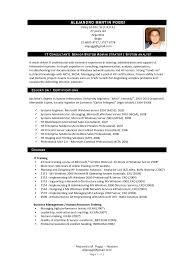 100 Resume Sample Of Consultant Personal Templates Senior It 4