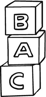 Abc Blokjes Kleurplaat Gratis Kleurplaten Printen