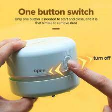 Máy Hút Bụi Mini Deli Máy Làm Sạch Mảnh Vụn Nhỏ Cầm Tay USB Bàn Phím