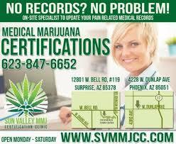 sun valley mmj certification clinic phoenix