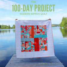 Shannon Fraser Designs: The 100-Day Project - A Creative Challenge & 100-Days of Modern Improv Quilting   Shannon Fraser Designs   Creative  Challenge   Textile Adamdwight.com