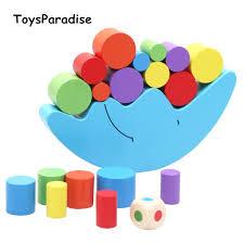 Baby Toys <b>Moon</b>/Bird Balancing Game <b>Wooden Toys</b> For <b>Kids</b> ...
