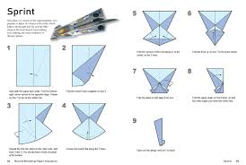 Paper Airplane Patterns Simple Ideas