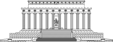 lincoln memorial building clipart. pin building clipart lincoln memorial 2 i