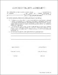 Confidentiality Agreement Samples Generic Confidentiality Agreement Form Toptier Business