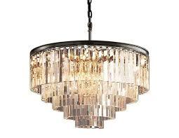 odeon 5 tier chandelier the local vault