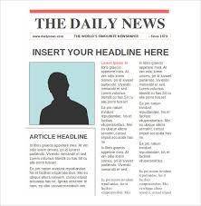 Create Newspaper Article Template Newspaper Template Free Word Create Article A Online Templates For