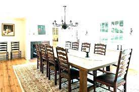 area rug under dining table dining room area rug farmhouse round dining table farmhouse round dining