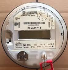 ge, general electric watthour meter kwh, kv2c, fm2s, 4 lug, 3w electric sub meter installation diagram at Ge Kilowatt Hour Meter Wiring Diagram