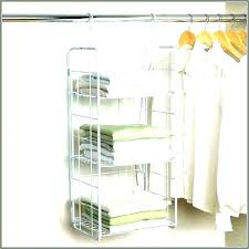 fabric hanging shelves purse hanger for closet sumptuous design ideas how to build clothes rods on