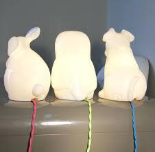 animal lamp photo 1 of 7 owl table white rabbit interiors lighting and gifts nursery