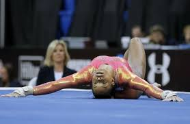 floor gymnastics gabby. Gabby Douglas Competes In The Floor Exercise During U.S. Women\u0027s Gymnastics Championships, Friday, June 24, 2016, St. Louis.