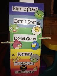 Angry Birds Behavior Chart Angry Bird Behavior Chart For My Behavior Chart Project