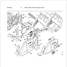 Stihl ms460 chainsaw parts diagram wiring diagram