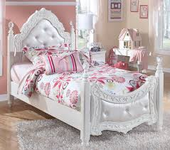 Levitz Bedroom Furniture Signature Design By Ashley Exquisite Twin Ornate Poster Bed With