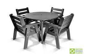 garden furniture british recycled plastic