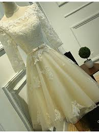 plus size wedding dresses with sleeves tea length long sleeves ivory lace tea length wedding dresses cheap beach