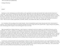 Nursing Admission Essay Examples Nursing School Application Resume Joefitnessstore Com