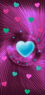 heart wallpaper pink wallpaper wallpaper backgrounds bright pink love heart glitter