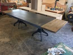 metal industrial furniture. Industrial Metal Furniture. Double Pedestal Dining Table Furniture R B
