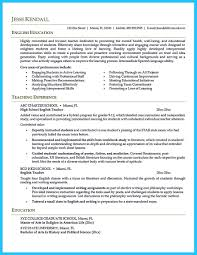 There Are Several Parts Of Assistant Teacher Resume To Concern