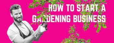 start a gardening business in australia