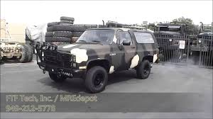 US Navy USMC 1983 Military M1009 CUCV Chevrolet Blazer with J ...