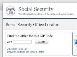 looking for your closest social security office