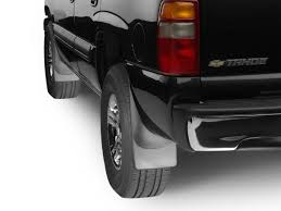 110055 | No Drill MudFlaps Toyota Tacoma - Black (With fender ...