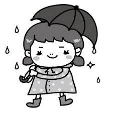 画像 1226 梅雨のイラスト集手書きのかわいいイラストがフリー Web