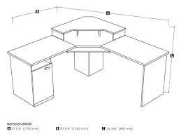 bestar hampton corner desk workstation computer homepro 69000
