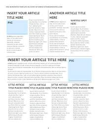 School Newspaper Layout Template News Layout Template Editable Elementary School Newspaper Free