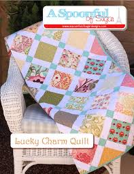Lucky Charm Quilt - A Spoonful of Sugar & If you are after a quilt pattern that is well suited to using charm  squares, you may wish to check out the Lucky Charm Quilt PDF Quilt Pattern  in our Etsy ... Adamdwight.com