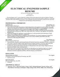 Electrical Designer Sample Resume Podarki Co